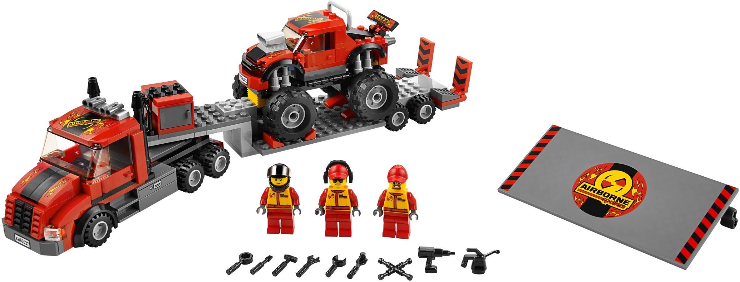 Monster-Truck Transporter 60027
