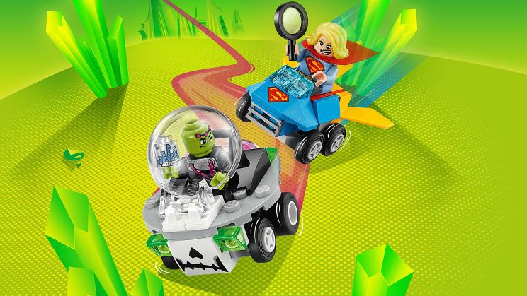 76094 Mighty Micros : Supergirl contre Brainiac