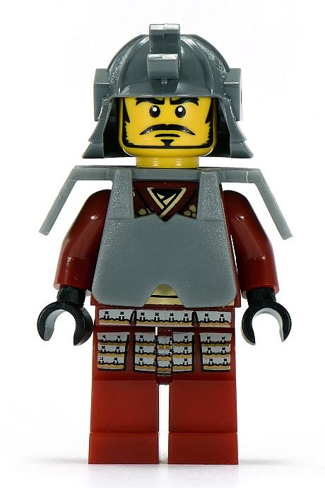 LEGO-MINIFIGURES SERIES 3 X 1 ARMOUR SUIT FOR THE SAMURAI WARRIOR SERIES 3 PARTS