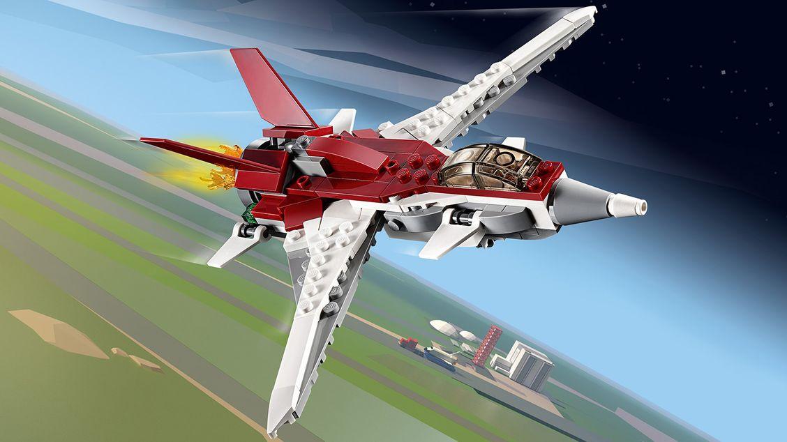 31086 L'avion futuriste