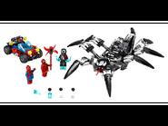 76163 Le véhicule araignée de Venom