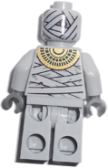 Mummy warrior back printing