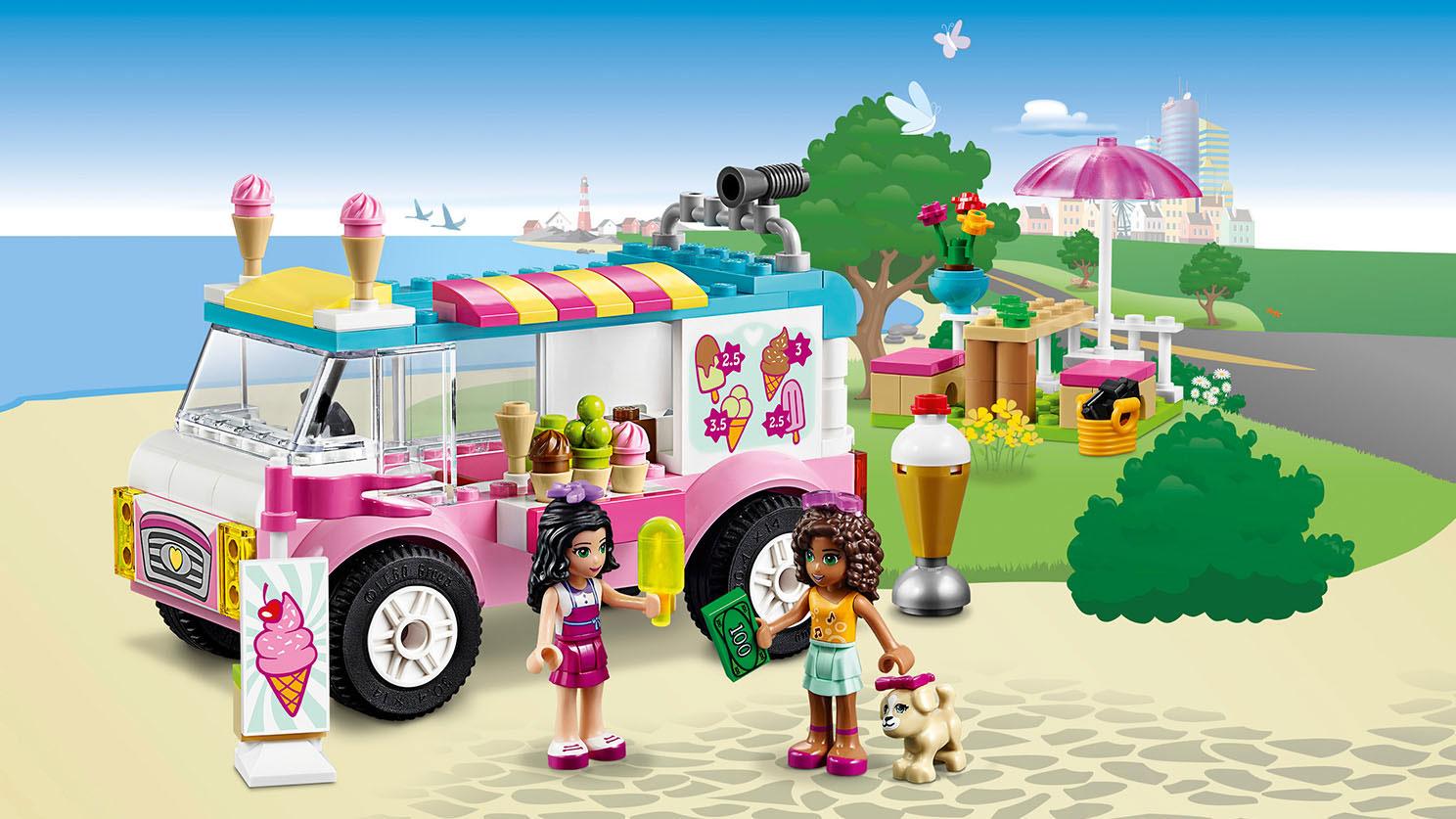 10727 La camionnette de glaces d'Emma