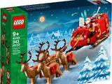 40499 Santa's Sleigh