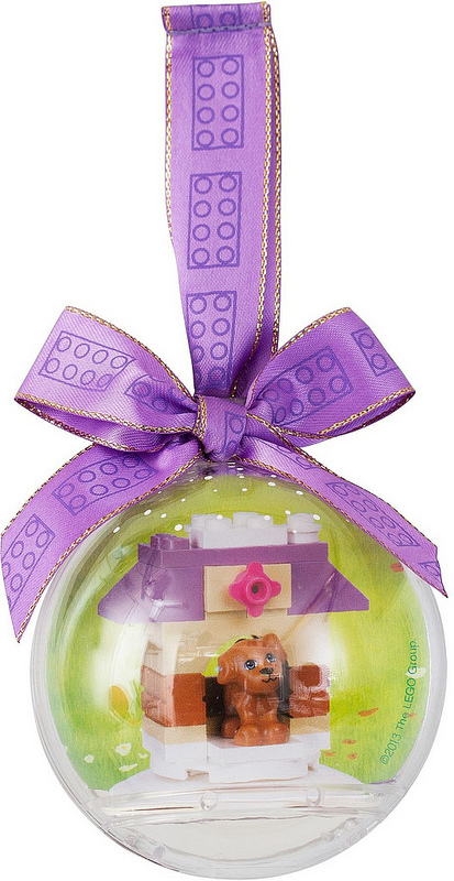 850849 LEGO Friends Doghouse Holiday Bauble