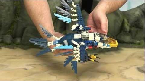 LEGO Legends of Chima - Eris' Eagle Interceptor 70003