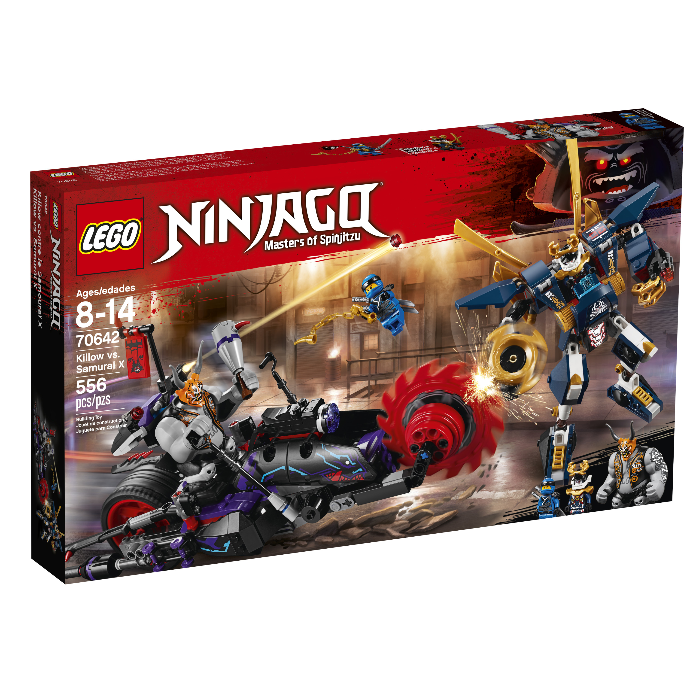LEGO Ninjago Samurai X P.I.X.A.L Minifigure with 2 Katanas 70642 70651 NEW