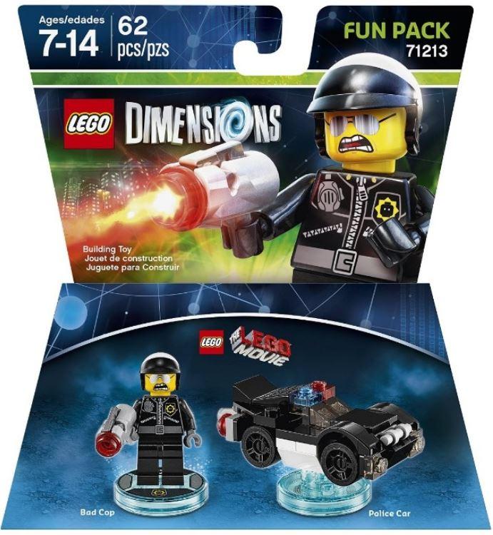 71213 LEGO Movie Bad Cop Fun Pack