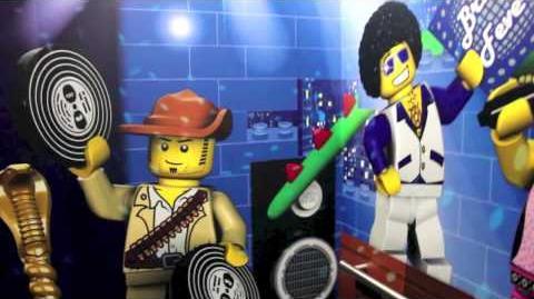 Disco Elevator at the Legoland Hotel