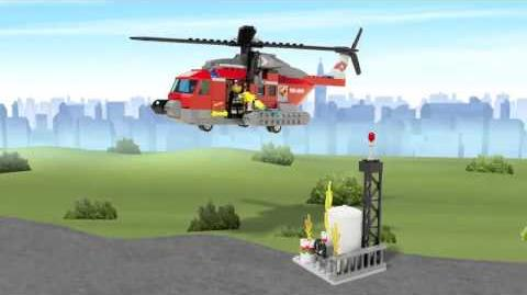 LEGO City - Fire Helicopter 60010