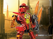 Lego Hero Factory William Blaze WP