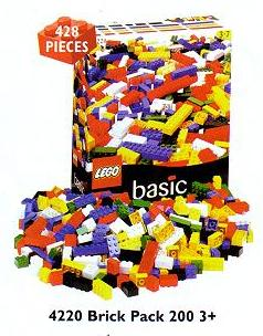 4220 Large Box of Bricks