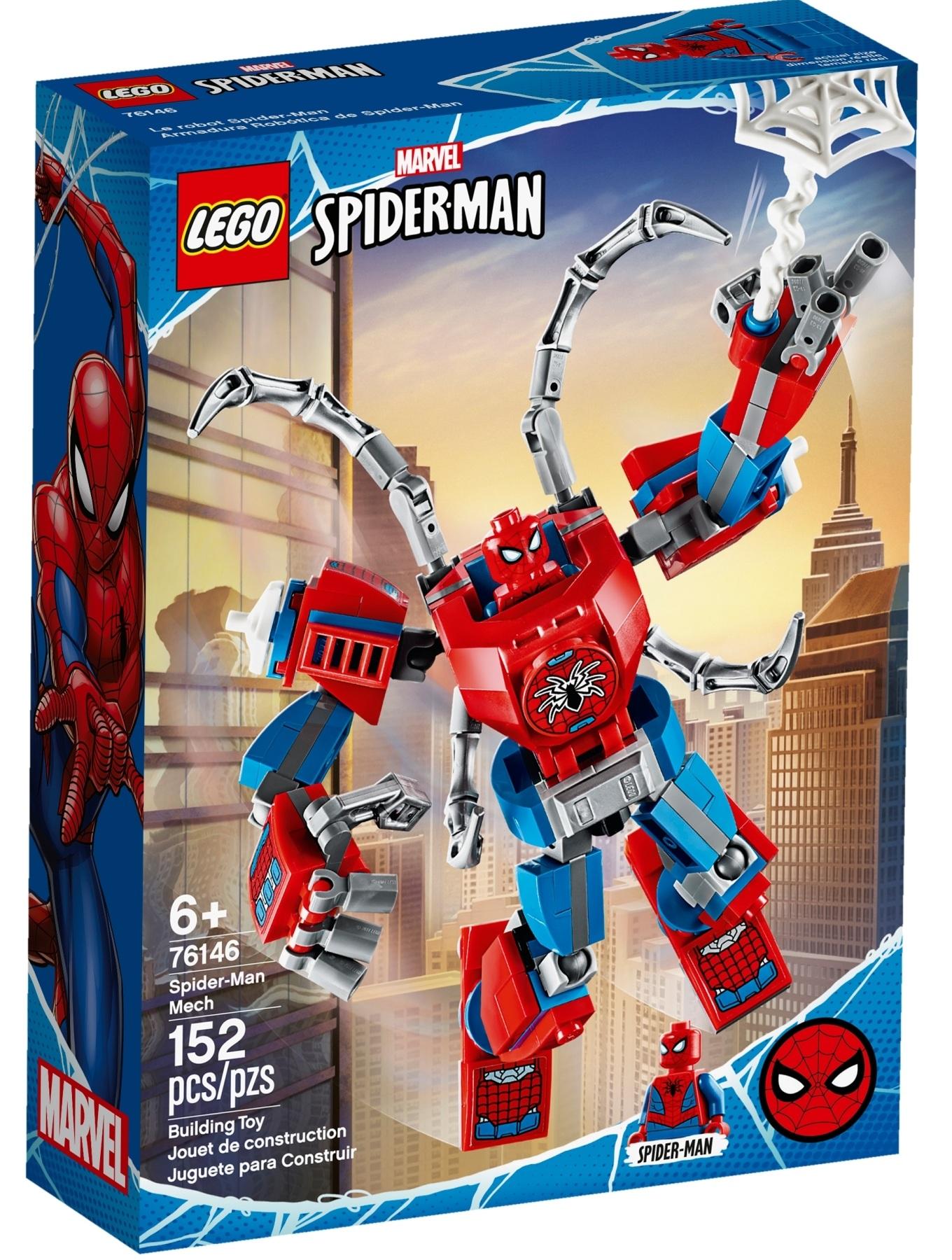 76146 Spider-Man Mech
