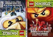 2-in-1 Ninja Handbook The Bravest Ninja of All Snakes in the Grass