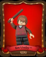 Carte Ron Weasley-4841