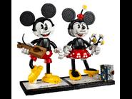 43179 Personnages à construire Mickey Mouse et Minnie Mouse 9