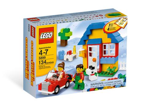 5899 House Building Set