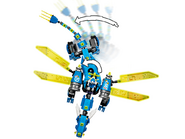 71711 Le cyber dragon de Jay 5