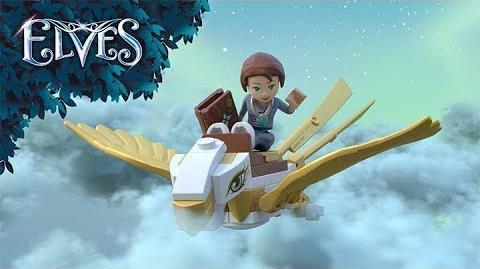 Emily Jones und die Flucht auf dem Adler 41190 - LEGO Elves - Product Animation
