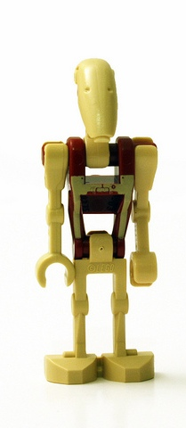Lego Star Wars Pilot Battle Droid 7662 Lot of 2 Minifigure
