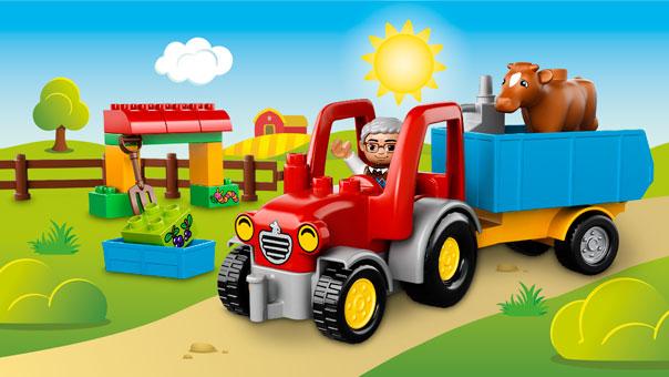 10524 Le tracteur de la ferme
