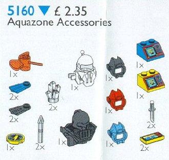 5160 Aquazone Accessories