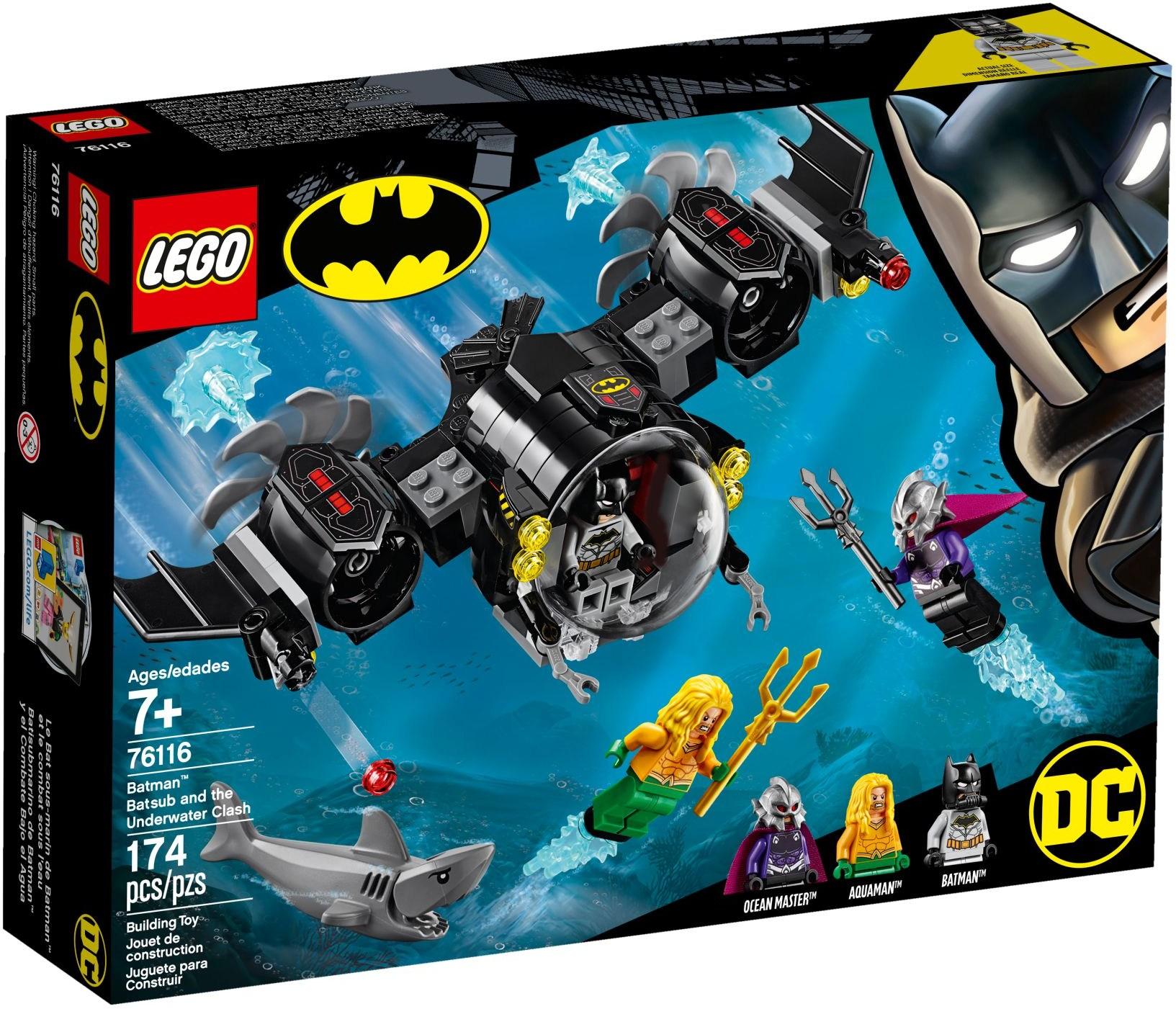 76116 Batman Batsub and the Underwater Clash
