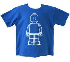 Blue Adult Minifigure T-Shirt