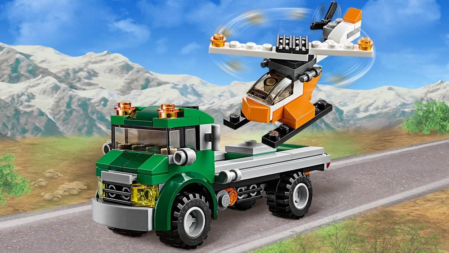 31043 Le transport de l'hélicoptère