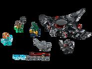 76095 Aquaman et l'attaque de Black Manta