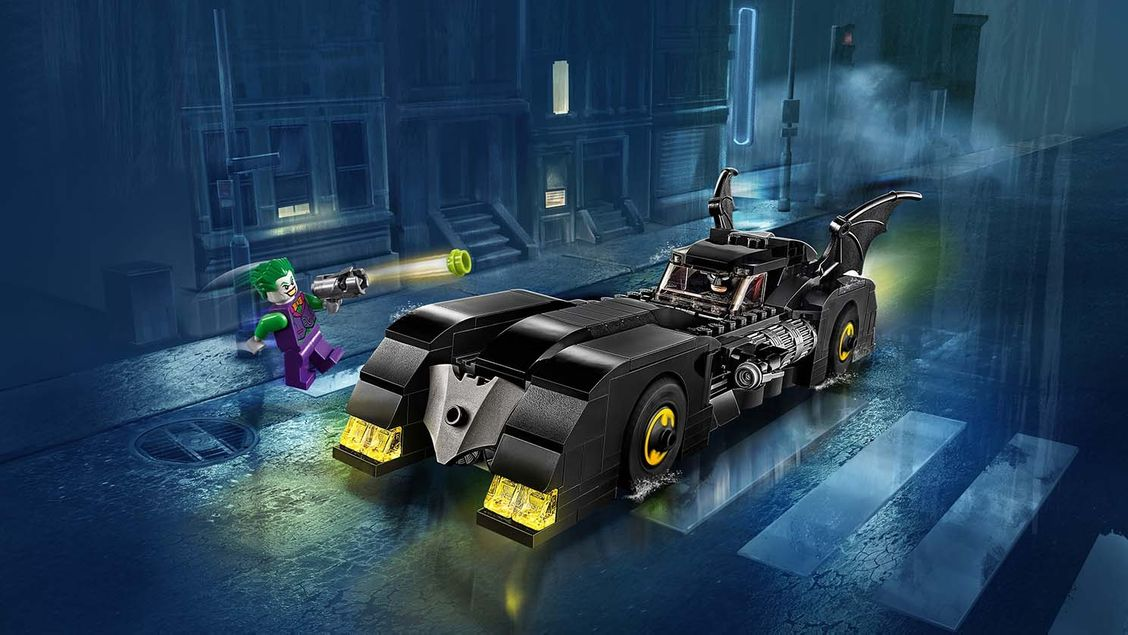76119 Batmobile : La poursuite du Joker