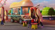 41129 La camionnette à hot-dogs du parc d'attractions