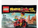 30341 Monkie Kid's Delivery Bike