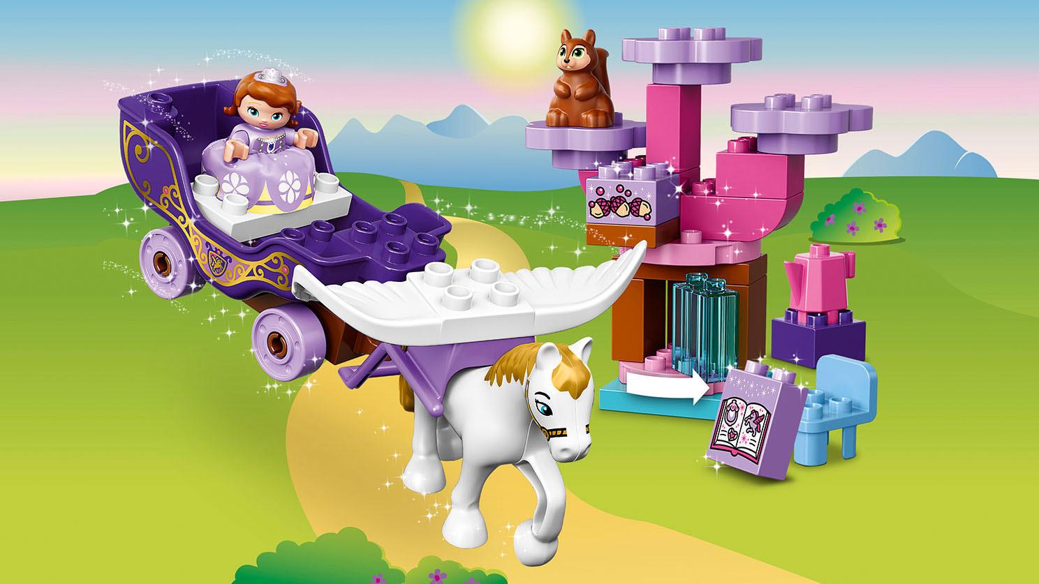 10822 Le carrosse magique de Princesse Sofia