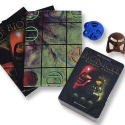 26374 BIONICLE Bohrok Swarm Trading Card Game: Blue Pack