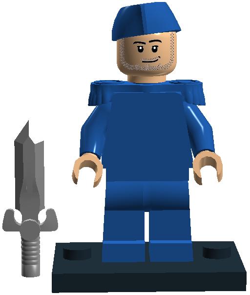 003 Blue Soldier