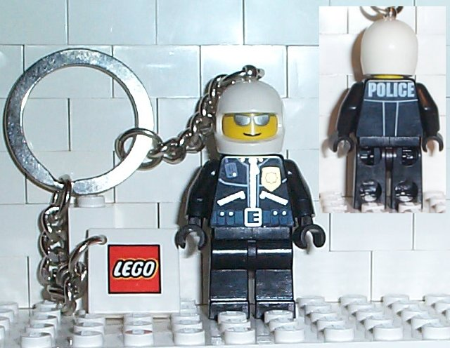 850149 Police Officer Key Chain