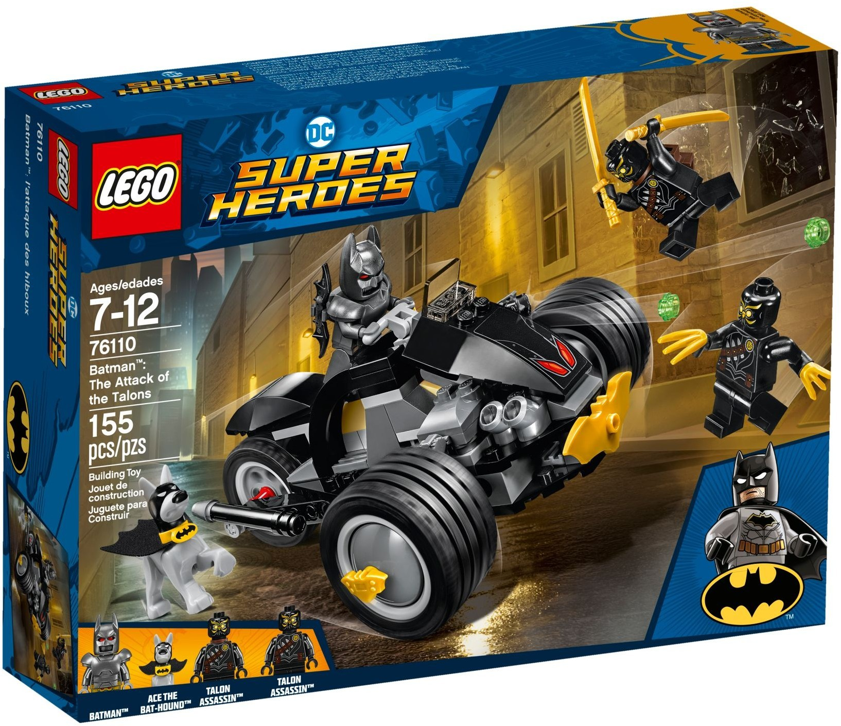 76110 Batman: The Attack of the Talons