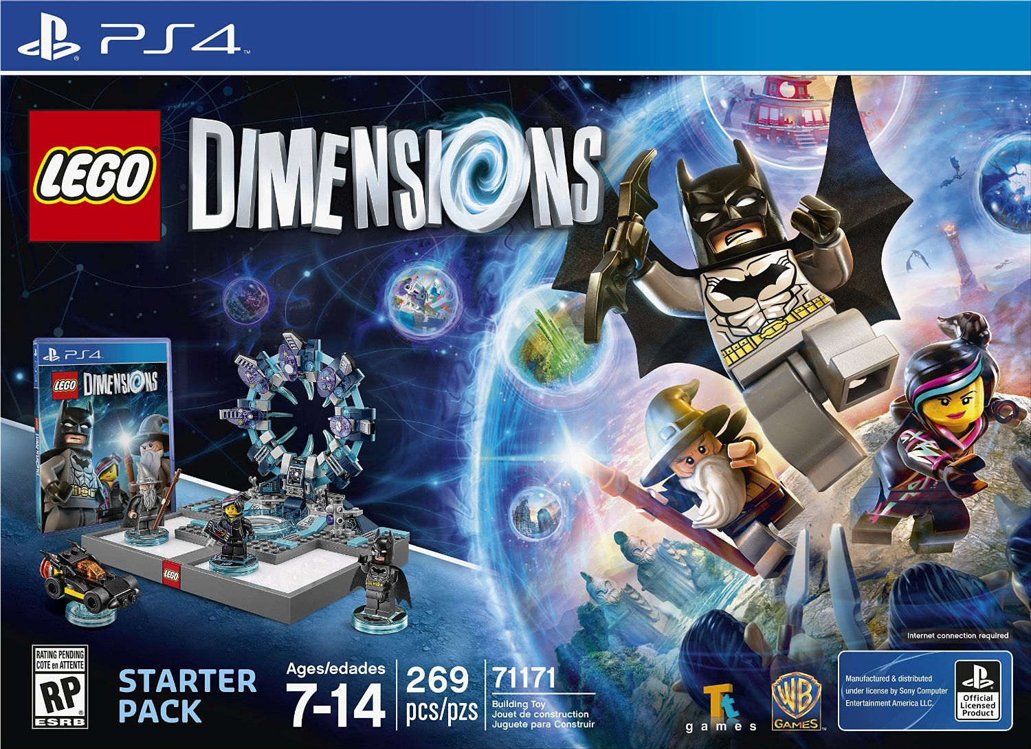 71171 LEGO Dimensions Starter Pack: PS4