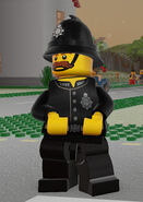LEGO Worlds Constable