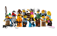 8804 Minifigures Série 4