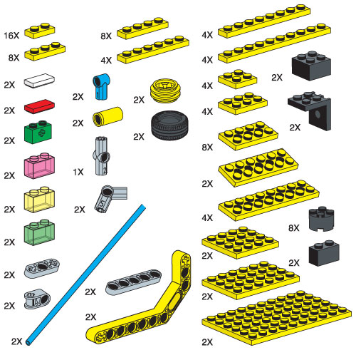 970671 Special Elements for Cities and Transportation Set
