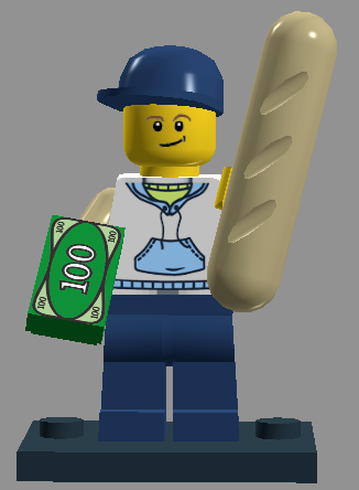 Bakery Delivery Man