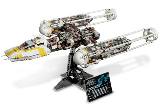 10134 UCS Y-Wing Attack Starfighter