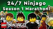 LEGO Ninjago Masters of Spinjitzu Season 1 Full Episodes 24 7 Marathon!