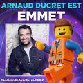 Vignette LEGO Movie 2 Arnaud Ducret
