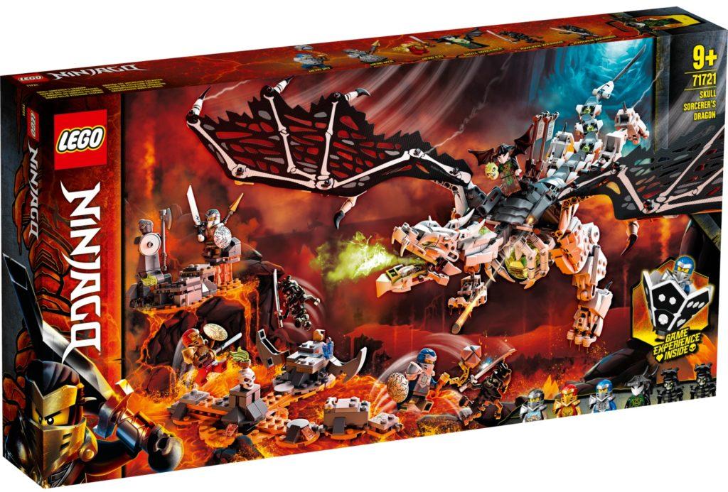71721 Skull Sorcerer's Dragon