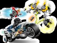 76142 L'attaque du Speeder Bike des Avengers 2