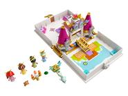 43193 Les aventures d'Ariel, Belle, Cendrillon et Tiana dans un livre de contes