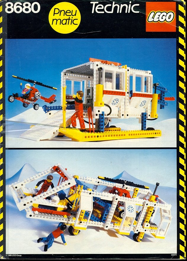 8680 Arctic Rescue Base